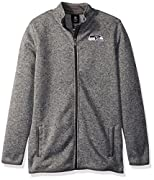Officially licensed by the NFL Welt pocket entries Poly sweater knit fleece anti-pillowed brushed back Country of origin: China
