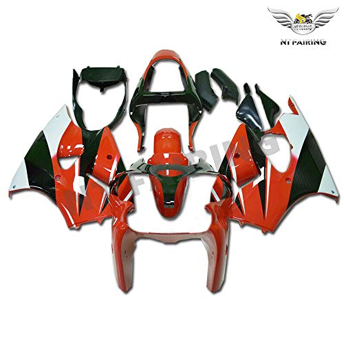 NT FAIRING Red Black Fairing Fit for KAWASAKI NINJA 2000 2001 2002 ZX6R 636 New Injection Mold ABS Plastics Bodywork Body Kit Bodyframe Body Work 00 01 02 ZX-6R