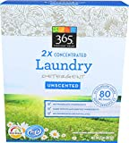 365 Everyday Value, Powdered Laundry Detergent, Unscented, 80 oz