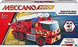 MECCANO - CAMION DE POMPIERS MECCANO JUNIOR - Jeu de Construction Avec Sons,...