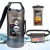 Etechydra Dry Bag Sac étanche 20 l avec bandoulière, étui étanche pour téléphone Portable +...
