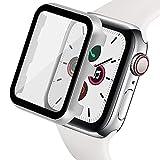 Ritastar - Custodia per Apple Watch con pellicola protettiva, sottile rivestimento in metallo e pellicola protettiva rigida in PET ad alta sensibilità al tocco, resistente agli urti, senza bolle d'aria, EDG 44mm Kl574p Sweatshirt - Bambini