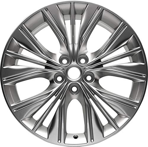 Partsynergy Replacement For New Aluminum Alloy Wheel Rim 20 Inch Fits 2014-2018 Chevy Impala 5-120.65mm 15 Spokes
