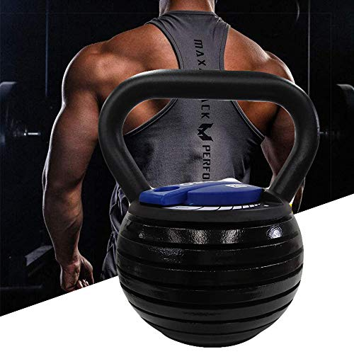 BUY-TO Kettle Bells Weight Sets 20 Lbs 40lb Cast Iron Kettlebell Weight with Adjustable Switch,Blue,40lbs=18kg 1