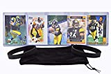 Jerome Bettis Football Cards (5) Assorted Bundle - Pittsburgh Steelers Trading Card Gift Set