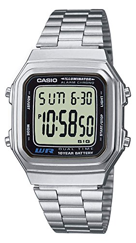 Casio Collection Unisex-Armbanduhr A178WEA 1AES