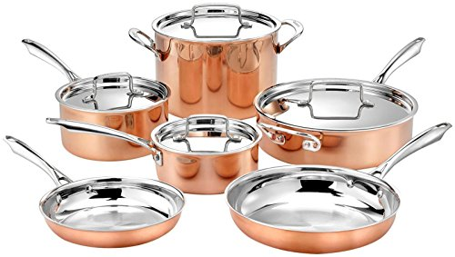 Tri-Ply Cooper Cookware Set, Best for USA