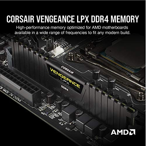 Corsair-Vengeance-LPX-16GB-2x8GB-DDR4-DRAM-3200MHz-C16-Desktop-Memory-Kit-Black-CMK16GX4M2B3200C16
