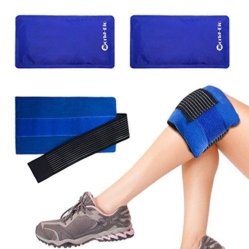 Set di 2 Flexible Ice Pack Caldo e freddo Gel Wrap Terapia di compressione, Gel Pack con...