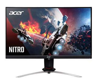 Acer Nitro XV273 Xbmiiprzx 27' Full HD (1920 x 1080) IPS AMD Radeon FreeSync & G-SYNC Compatible Gaming Monitor,240Hz,VESA Certified DisplayHDR400,Up to 0.1ms Response Time (1xDP, 2xHDMI&4 x3.0 Ports)