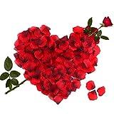 3000pcs Pétales De Rose, Pétale de Fleur pour Mariage Décoration,...