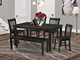 6 PC Dining room set- Dining Table and 4 Dining Chairs and also Bench