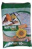 AIME Nourriture pour Oiseaux, Nature Mix 10 Kg pour Oiseaux du...