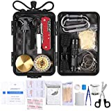 Lixada Kit de Survie d'urgence, Multifunctional...