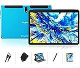 Tablet 10 Pulgadas Android 10.0 - Ultrar-Rápido Tableta 4GB RAM+64GB ROM - Certificación Google gsm - Ocho-Núcleos 8000mAh WI-FI Bluetooth GPS Type-C (5.0+8.0 MP Cámara) -Bleu