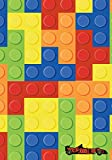 Writing Journal for Boys: Cool LEGO Pattern Notebook with Lined & Blank Pages: Perfect for Prayer/Gratitude/Summer Camp/Travel or Daily Journal for ... & Write In (Boys Writing Journals) (Volume 1)