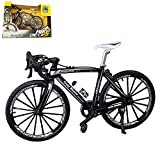 Kiwochy 1: 8 Bike Metal Model Bikes Toys Bicycle Model Decoration Mountain Bike Mini Model Ornaments Finger Bike Mini Bicycle Model Cool Toy Home Office Desktop Decoration Collection (7.875.12')
