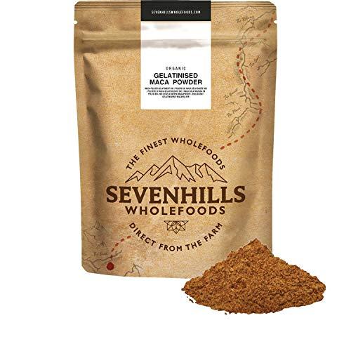 Sevenhills Wholefoods Maca-Pulver Gelatiniert Bio 2kg