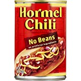 Hormel Chili With No Beans 15 Oz (8 Pack)