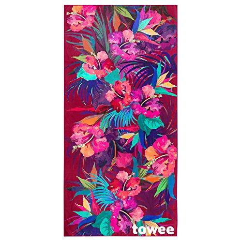 Towee Serviette de Natation en Microfibre (Paradise, 70 x 140 cm)