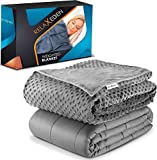 """RelaxEden Adult Weighted Blanket W/Removable, Washable Duvet Cover