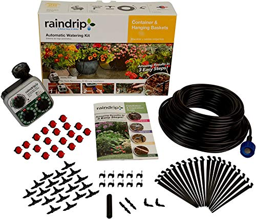 Raindrip R560DP Automatic Watering Kit for Container and Hanging Baskets