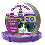 Calming Pheromone Collar for Cat with Thrilling Calming Effect to Keep Your Pet Healthy and Happy Adjustable Anxiety Natural Calm Collars, Fits All Cats Small Medium & Large