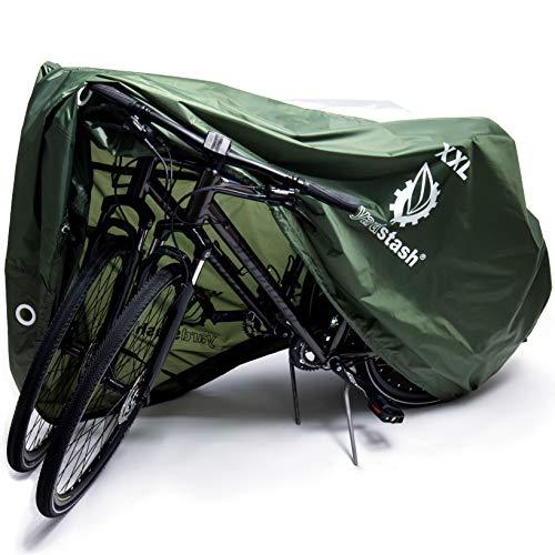 YardStash Bike Cover – XXL, Reflective Bicycle Tarp &...