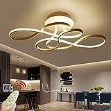 Plafonnier LED Dimmable avec Télécommande Plafonniers Moderne Lampe...