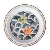 Toyandona - bìa gốm Nhật Bản cho dĩa trà có in đa năng bìa tròn cốc sáng tạo (kiểu hoa Nhật Bản)