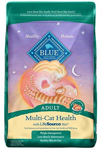 Blue Buffalo Multi-Cat Natural Adult Dry Cat Food
