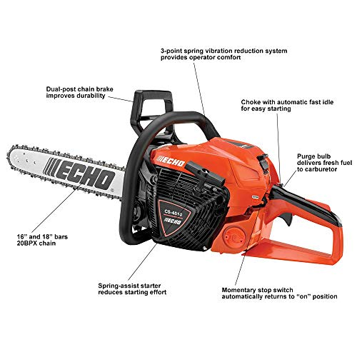 ECHO Chainsaw with 18 In. Bar