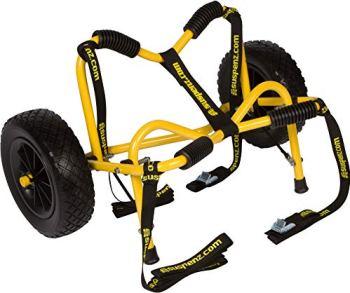 "Suspenz Smart Airless DLX Cart, Black, 27"""" x 13"""""""