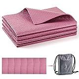 Avoalre Yoga Mat Foldable Non Slip 66''L x 24''W x 1/4inch Thick Portable Eco Friendly Anti-Tear...