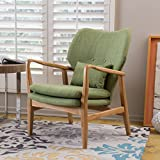 Christopher Knight Home Haddie Fabric Club Chair, Green