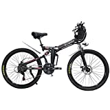 BESTIM 26 Inch 3 Cycling Mode Electric Bike, 350W Professional 21 Speed Gears Folding Electric Ebike...