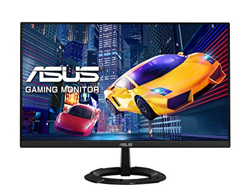 ASUS VZ249HEG1R Gaming Monitor – 23.8inch Full HD (1920 x 1080), IPS, 75Hz, 1ms MPRT, Extreme Low Motion Blur, FreeSync, Ultra-slim