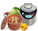 VitaClay VM7900-8 Smart Organic Multi-Cooker- A Rice Cooker, A Slow Cooker, A Digital Steamer plus a bonus Yogurt Maker, 8 Cup / 4.2-Quart