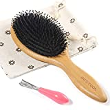 BESTOOL Hair Brush, Boar Bristle Hair Brushes for Women men Kid, Boar...