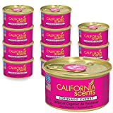 California Scents Spillproof Can Air Freshener Eco-Friendly Odor Neutralizer for Home, Car, & Much More, Coronado Cherry, 1.5 Oz, 12 Pack