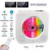 Lecteur de CD Portable, Haut-Parleur HiFi intégré, Lecteur de Musique MP3...