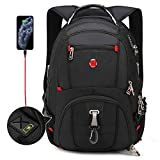 Travel TSA Friendly Laptop Backpack|Anti-Theft Bag with USB Charging Port and Combination Lock,...