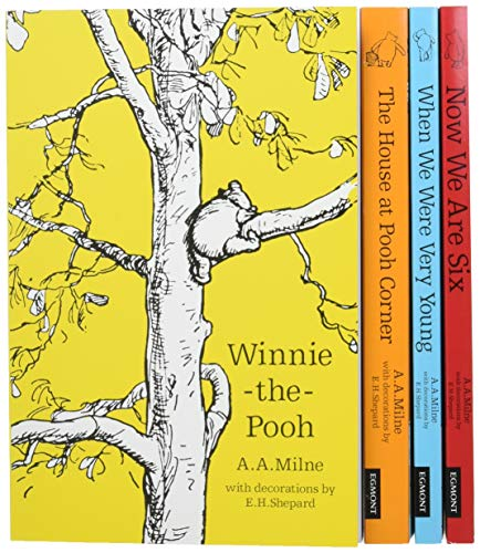 Winnie the Pooh 90th Anniversary Slipcase: Classic Collection / Now We Are Six / When We Were Very...
