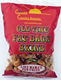 Old Time Fat Back Skins Chicharron Red Pepper 12 bags (3.5 oz)