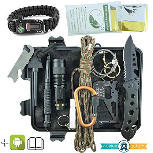 Professionelles Militär Survival Kit Komplett Dritte...
