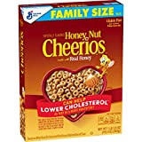 Honey Nut Cheerios, Gluten Free Cereal With Oats, 19.5 Oz
