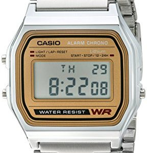 Casio Men's A158WEA-9CF Casual Classic Digital Bracelet Watch 9