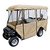 Leader Accessories Golf Cart Storage Cover Deluxe Driving Enclosure...