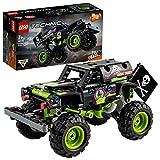 LEGO42118TechnicMonsterJamGraveDigger,Modelo2en1,CamióndeJugueteoOff-RoadBuggy, SetdeConstrucción