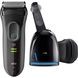 Braun Electric Razor for Men, Series 3 ProSkin 3070cc Electric Foil Shaver, Rechargeable with Clean...
